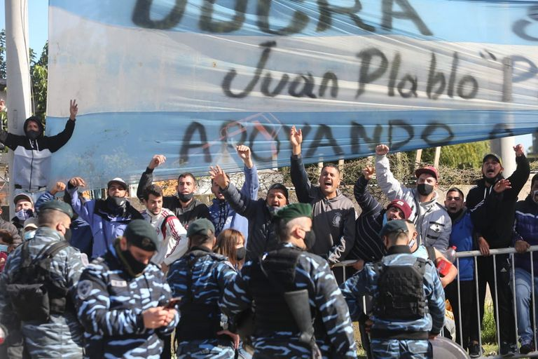 Alberto Fernández Cristina, Sergio Massa Axel Kicillof lanzamiento del Programa Reconstruir, en Ensenada