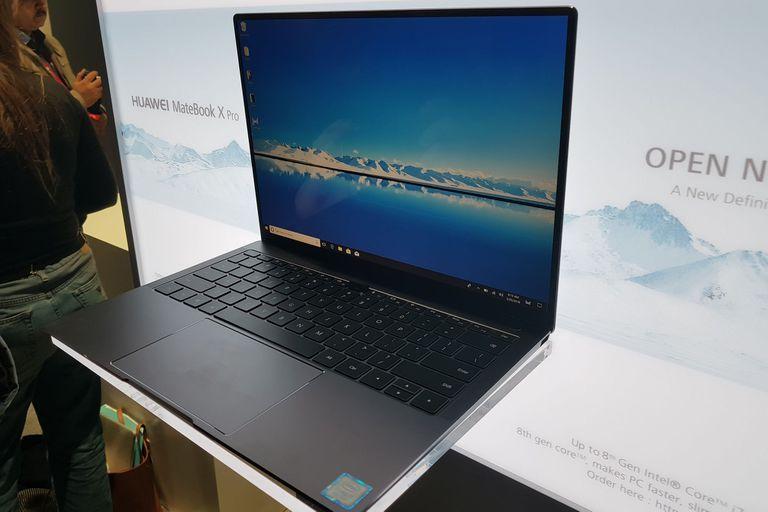 Huawei anunció la MateBook X Pro, con pantalla sin marco y una webcam periscopio