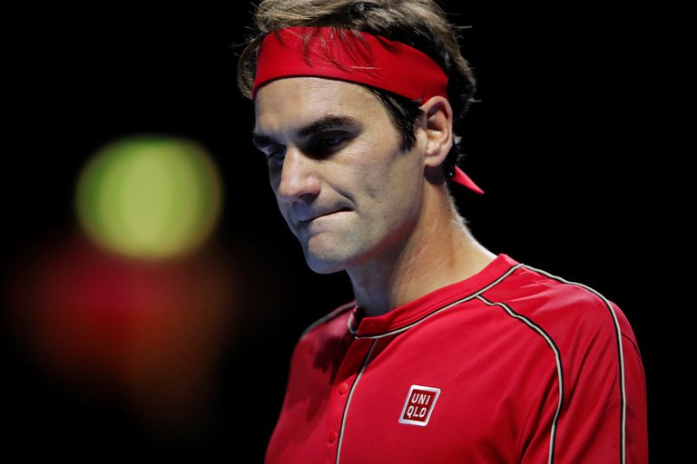 Federer es consciente de que le queda cada vez menos para retirarse