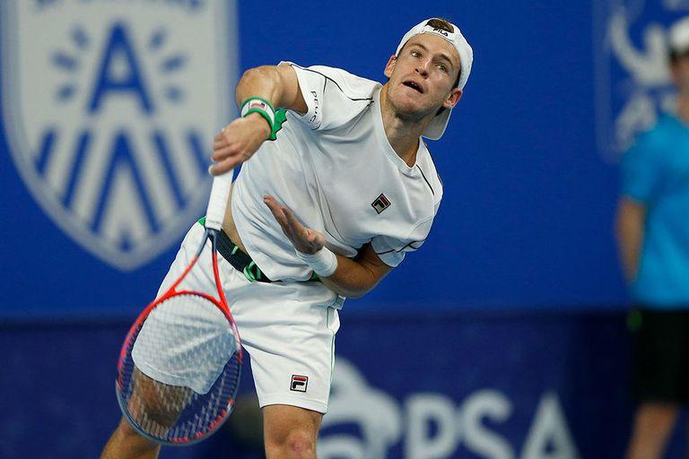 Schwartzman derrotó a Simon y jugará en semifinales ante otro francés en Amberes