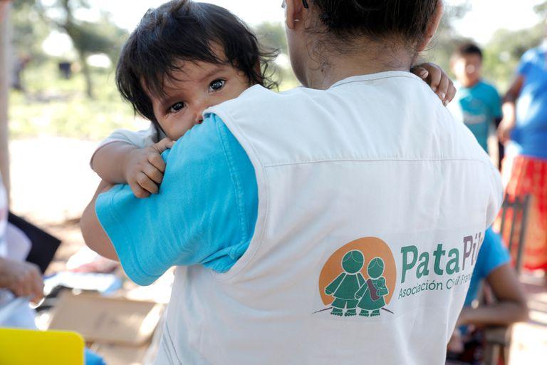 Pata Pila es una de las asociaciones civiles que trabajan en las comunidades wichis del norte de Salta