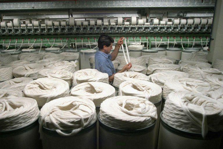 El rubro textil fue uno de los que más aumentó