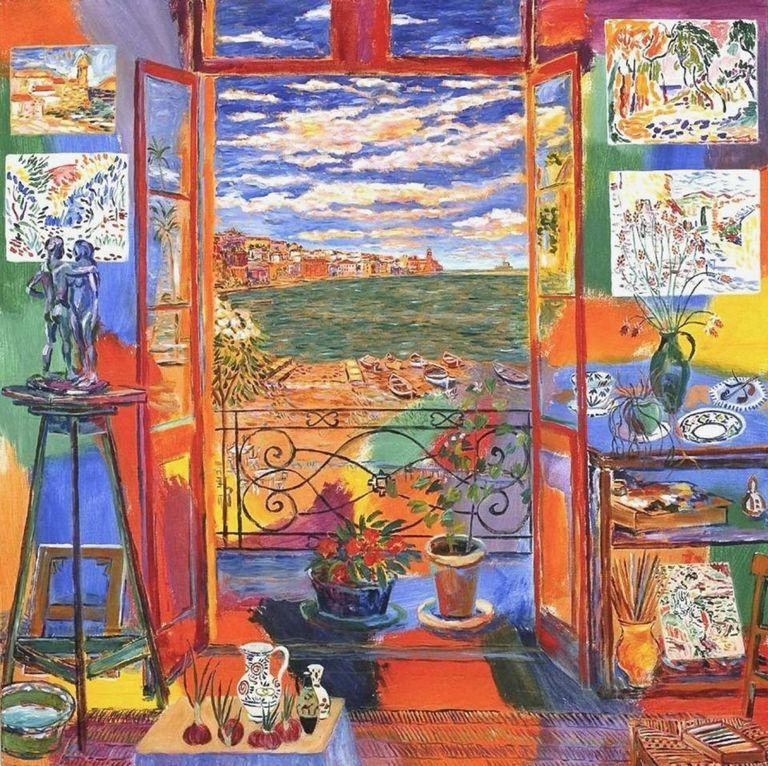 Collioure según las pinceladas de Henri Matisse