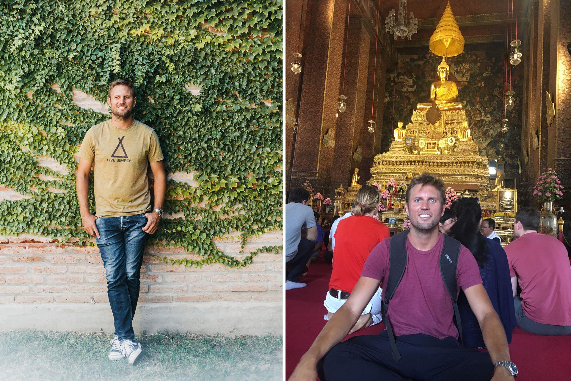 Un viaje a Europa fue el puntapié para investigar sobre la felicidad.