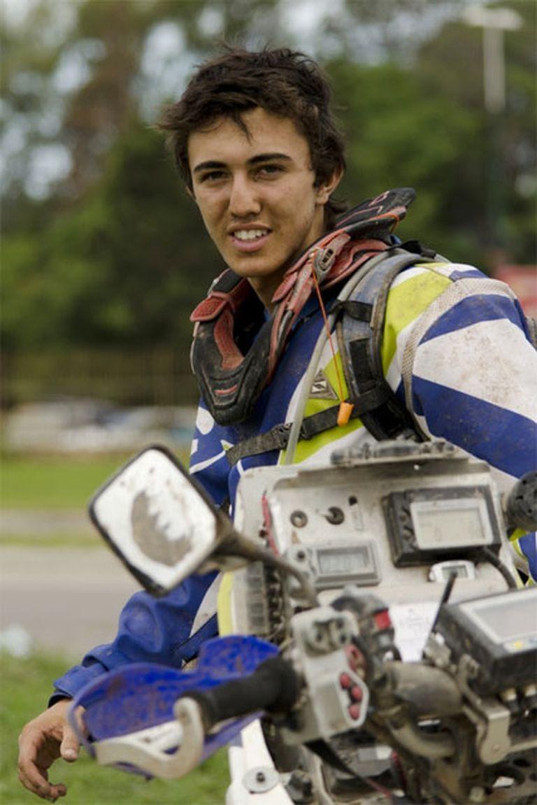 Jeremías, el joven piloto que hizo historia en el Dakar 2015