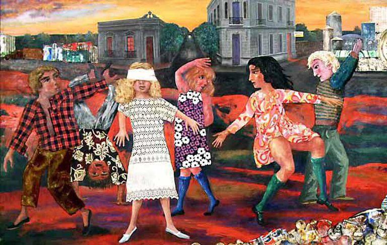 """""""La gallina ciega"""" (1973), de Antonio Berni, vendida en Christie's (NY) en noviembre de 1997 por 607.500 dólares"""