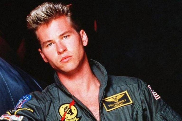 Val Kilmer en Top Gun
