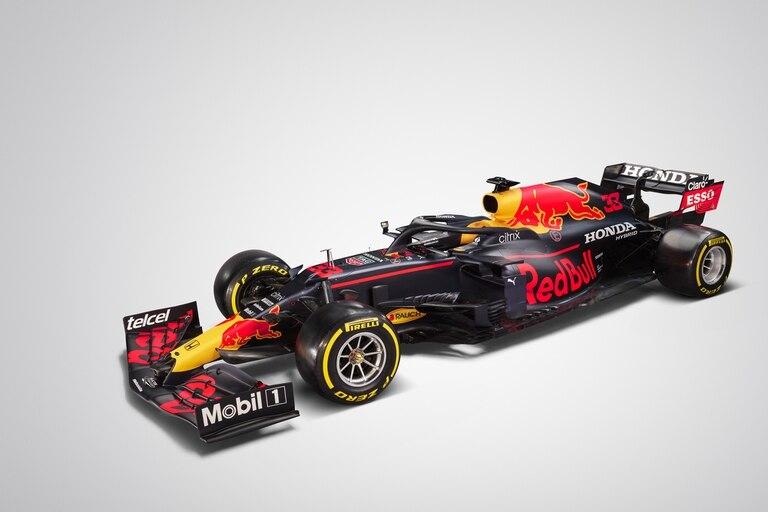 presentación del auto de Fórmula 1 de Red Bull Racing