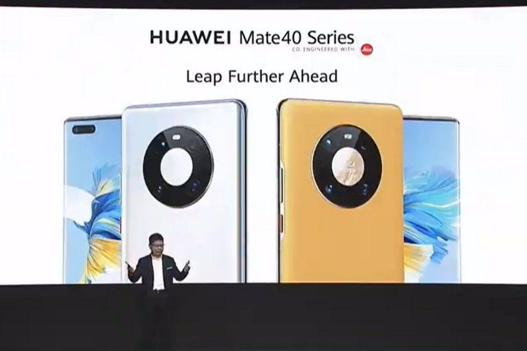 Huawei lanzó su nueva línea de smartphones equipados con un chip de cinco nanómetros y con un llamativo diseño de cámaras Space Ring, equipado con sensores de hasta 50 megapixeles