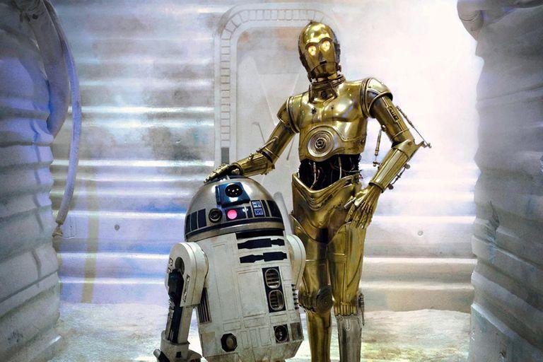R2-D2 y C-3PO, dos infaltables