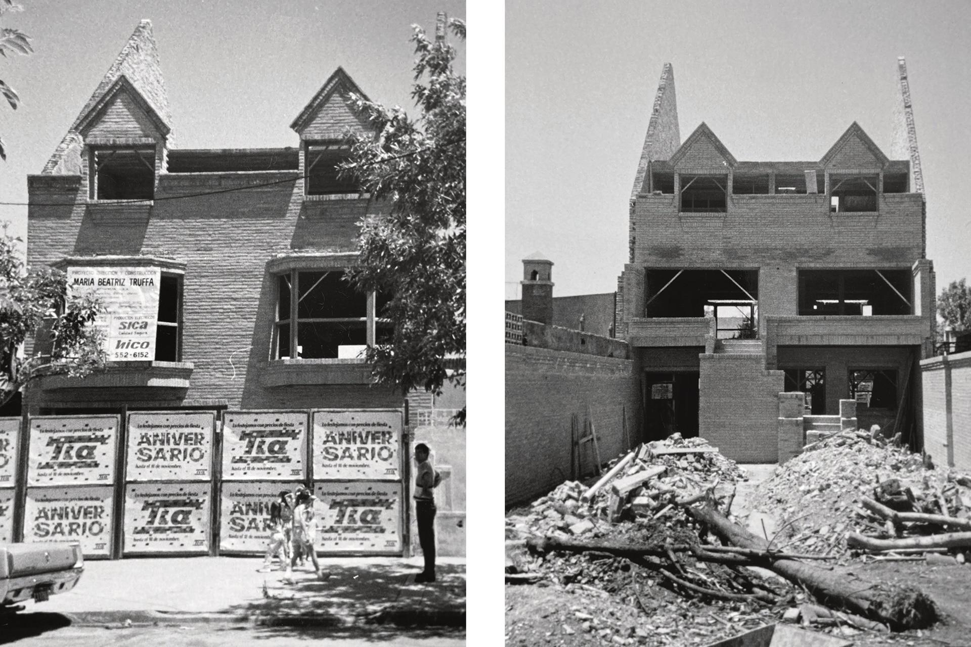 Una de las premisas de la obra fue conservar el ladrillo de la fachada y de la galería, para que no se perdiera la identidad de la casa.