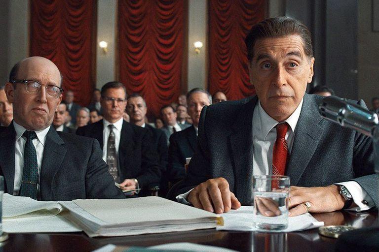 Pacino interpreta al poderoso sindicalista Jimmy Hoffa