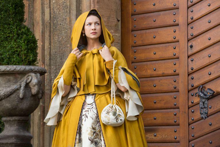 Caitriona Balfe como Claire. Outlander. FOX+