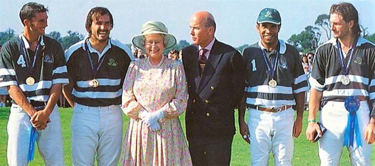 Cuando ganó el Lolo Castagnola (a la derecha) junto con Cambiaso, en 2003