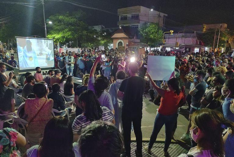 Rebelión civil contra las restricciones y séptima protesta en Formosa