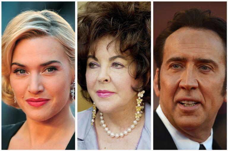 De Nicolas Cage a Kate Winslet: famosos que se casaron más de una vez
