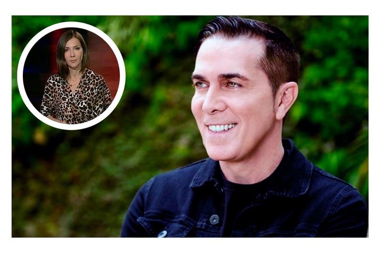 En las redes sociales, Rodolfo Barili le dedicó cálidas palabras a su compañera del noticiero, Cristina Pérez