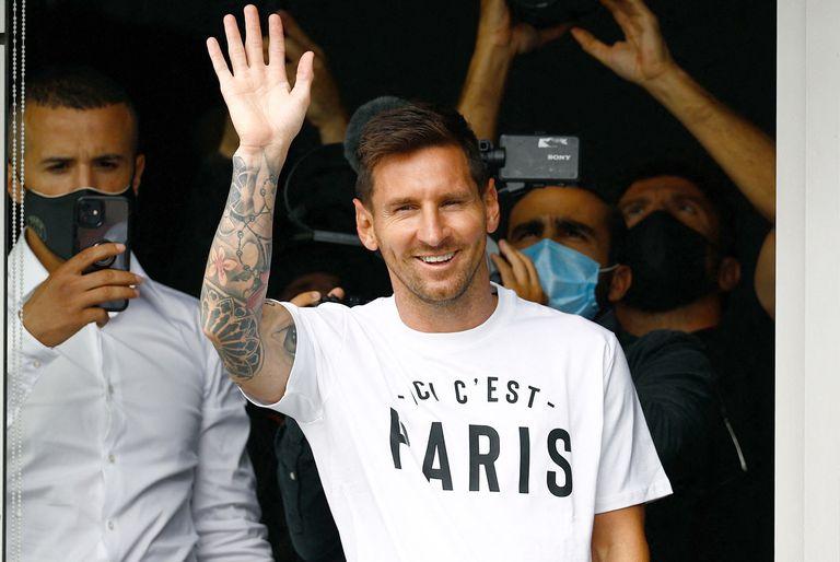 La particular obra de arte en pleno París que llamó la atención de Leo Messi