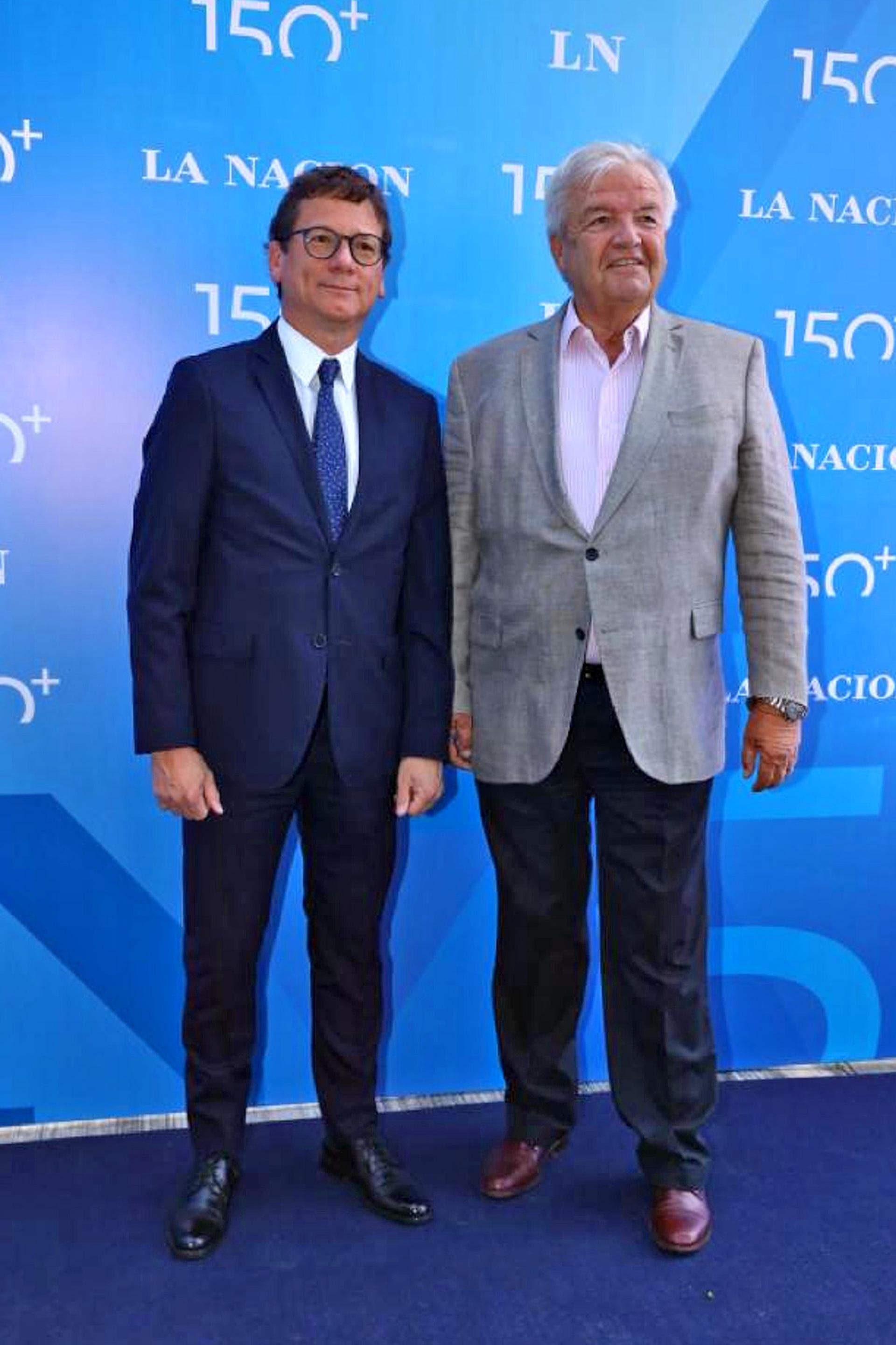 Gabriel Martino de HSBC y Luis Betnaza, de Techint
