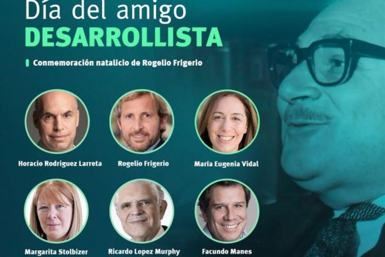 Señales: Stolbizer, López Murphy y Manes, en una foto junto a Larreta y Vidal