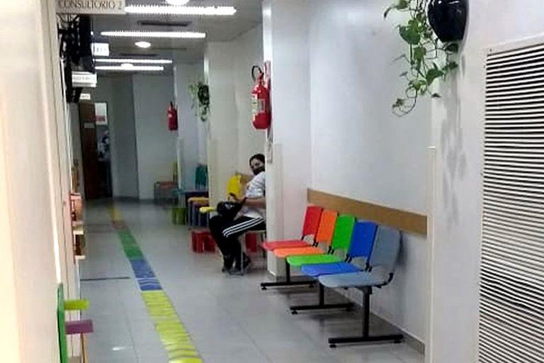 Salas de espera vacías, una imagen que se repite durante la pandemia