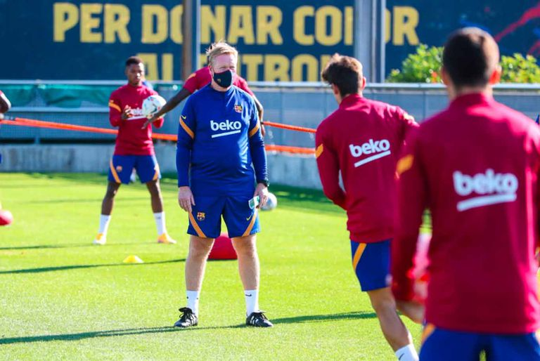 Barcelona. Lo que dijo Koeman sobre Messi después de los primeros días juntos