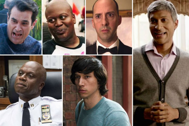 Ty Burrell, Tituss Burgess, Tony Hale, Andre Braugher, Adam Driver y Keegan-Michael Key
