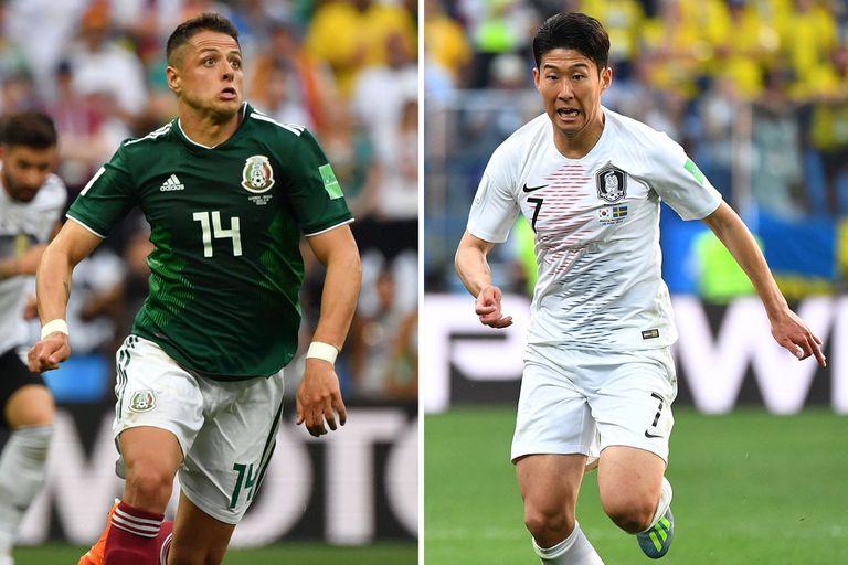 Corea del Sur-México, Mundial Rusia 2018: horario, TV y formaciones