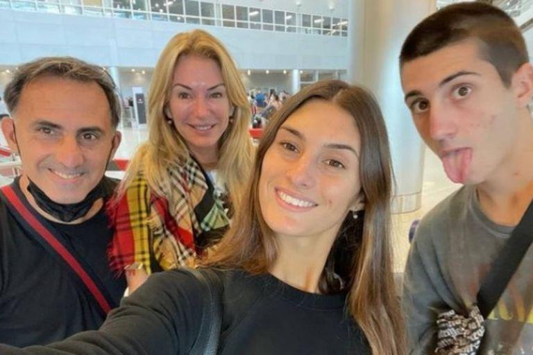 Yanina Latorre dejó registrada en video toda la secuencia desde que salió de Argentina hasta que llegó a Miami para inocularse con su familia.
