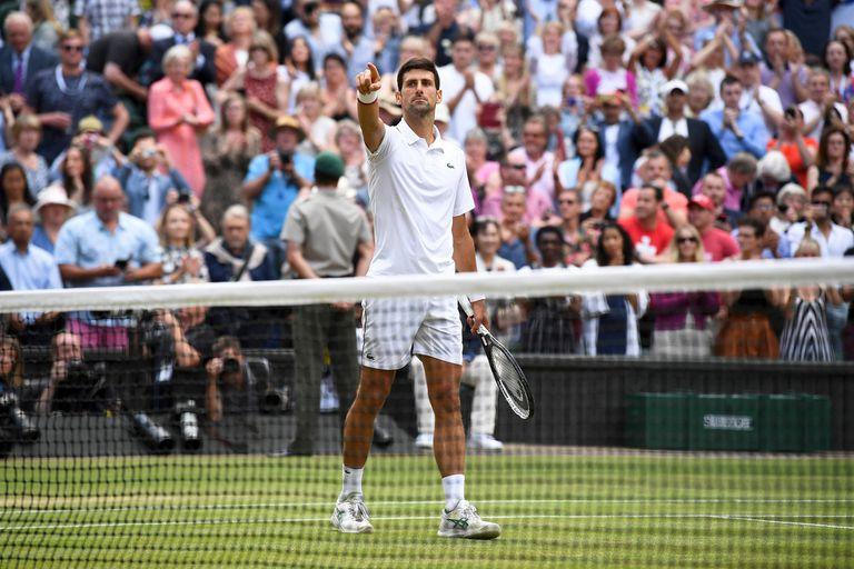 Djokovic acortó distancias con su vencido (20) y Nadal (18) en la lista de campeones de Grand Slam
