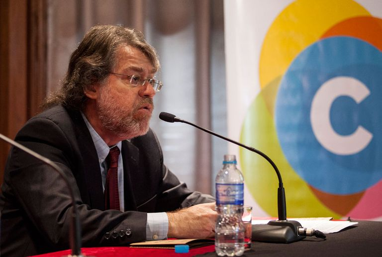 "Ricardo Forster dijo que a Macri ""le quedó chico el manual neoliberal"""