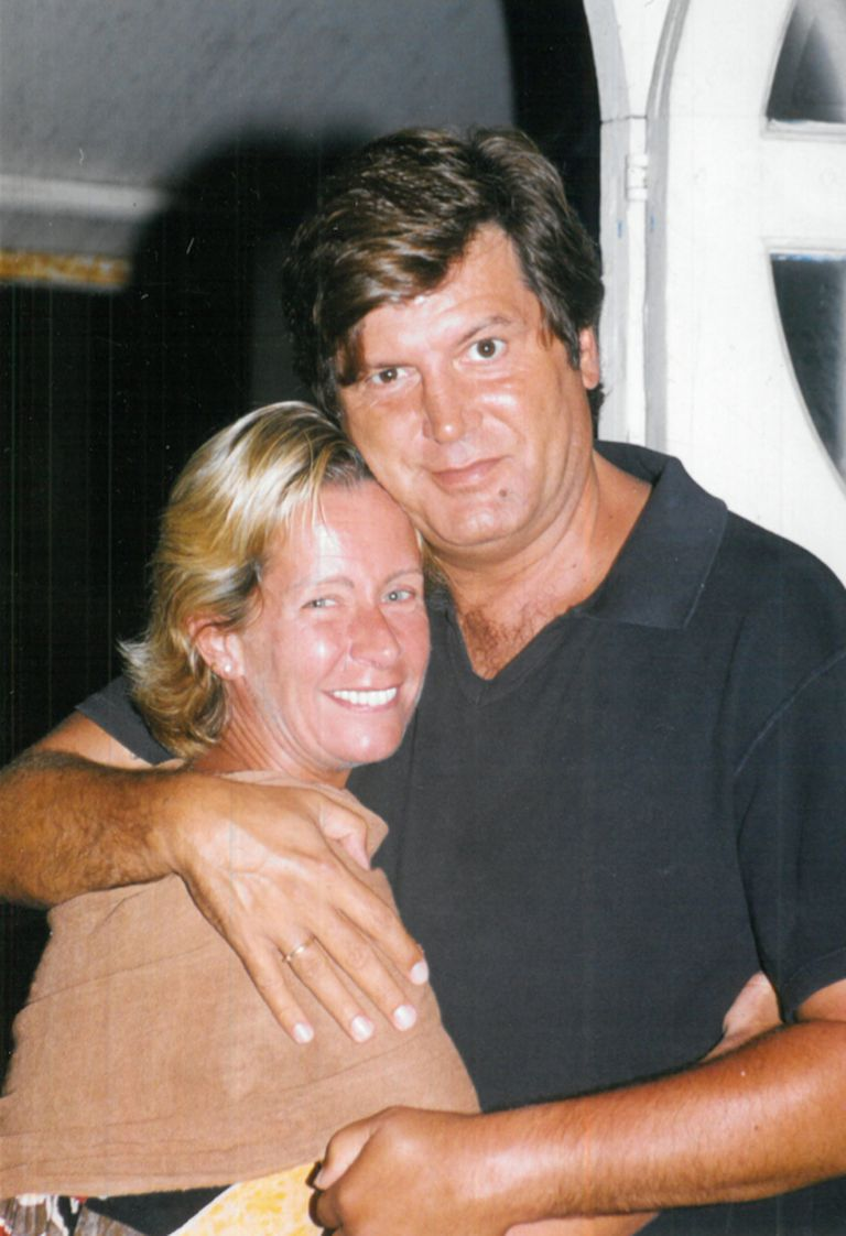 Famosos y verano: Carlín Calvo y María Valenzuela en Playa Ku.