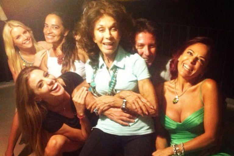 Coca Calabró viajó a Carlos Paz y celebró con su hija