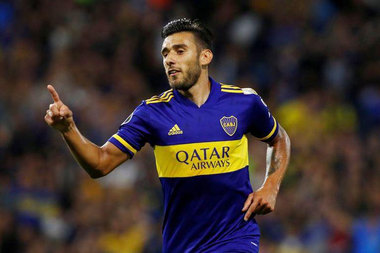 Salvio, el jugador mas decisivo de Boca en 2020