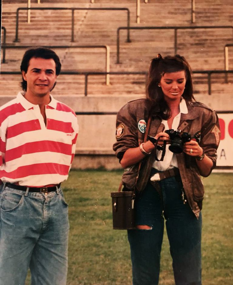 La insólita foto que juntó a Alejandro con Adriana diez años antes de que se conocieran