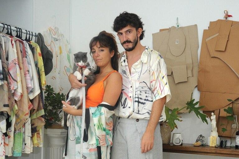 Felicitas Ramallo y Jordi Bargo, los creadores de Somos Molde (PH: Sol Torres Zavaleta).