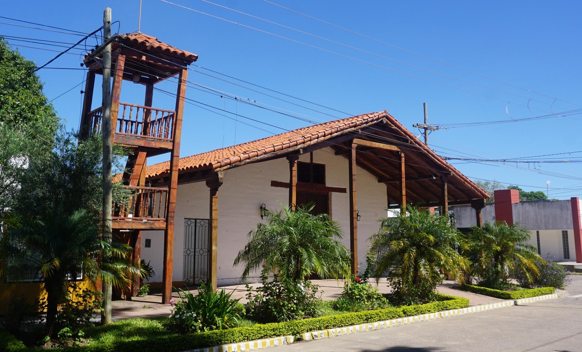 El museo de Concepción, en una antigua capilla rural