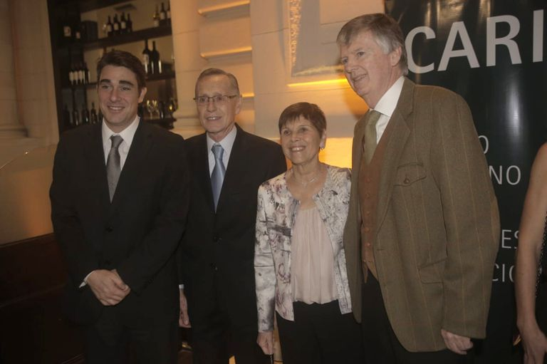 Javier Iguacel, Adalberto Rodríguez Giavarini, Susana Pestana y Guillermo Stanley