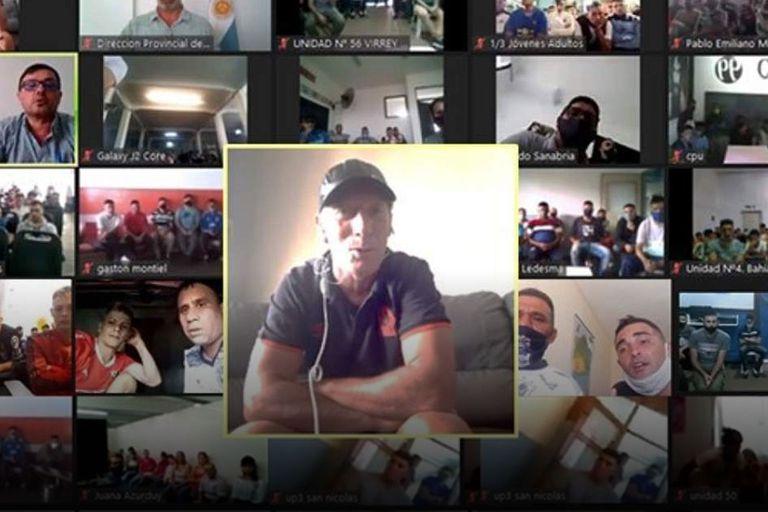 Pedro Troglio habló sobre la importancia del deporte con 800 internos de cárceles bonaerenses