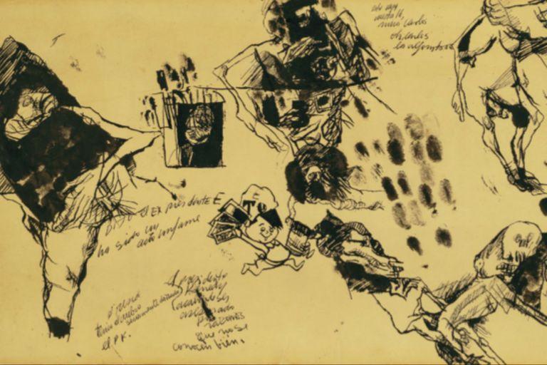 Obra de Alberto Greco en Del Infinito
