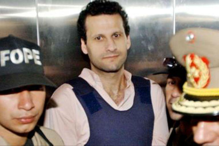 Barakat, al momento de ser detenido
