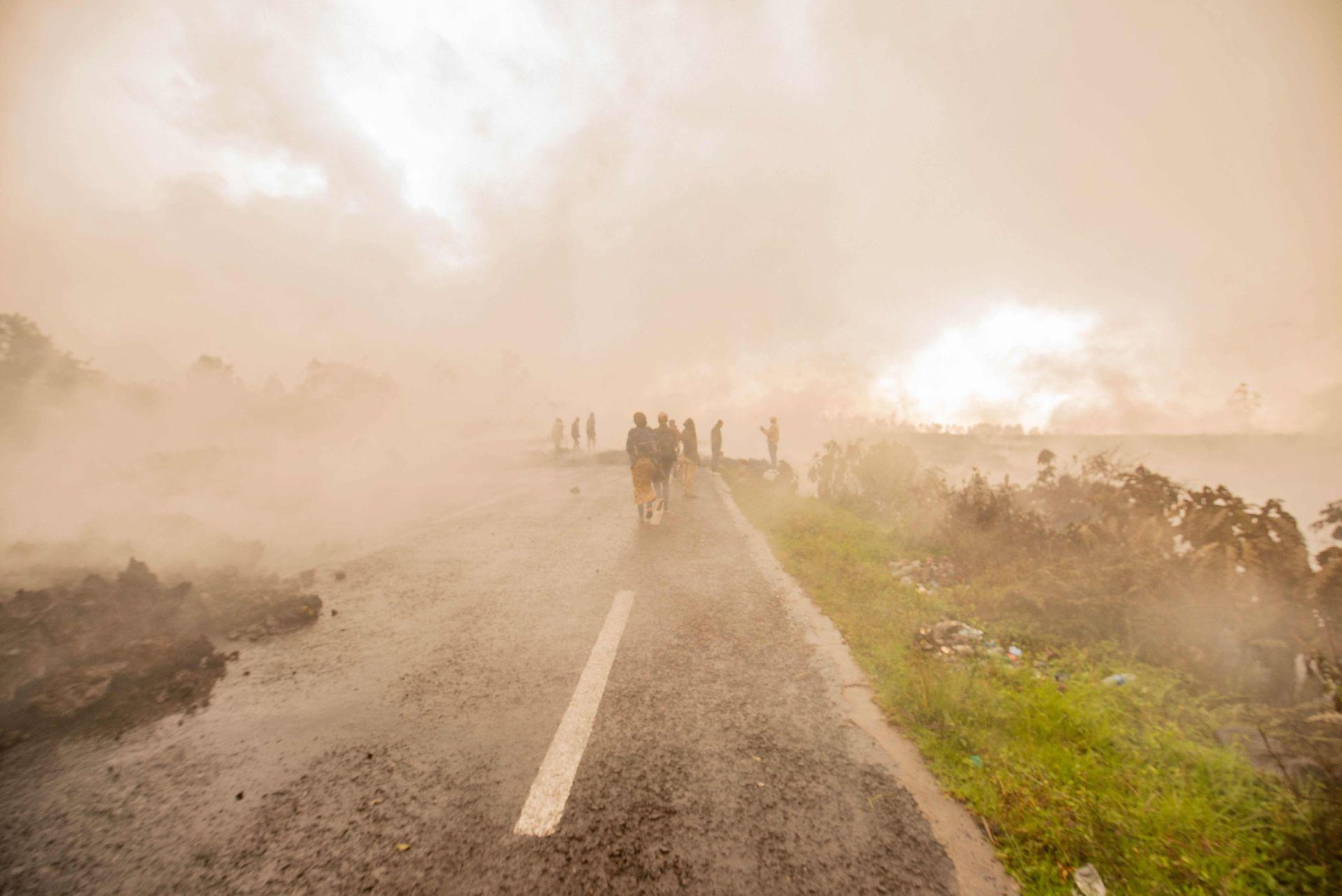 El 22 de mayo, sin previo aviso, el volcán Nyiragongo entró en erupción; no sonaron las sirenas, no hubo expulsiones de lava ni se percibieron temblores.