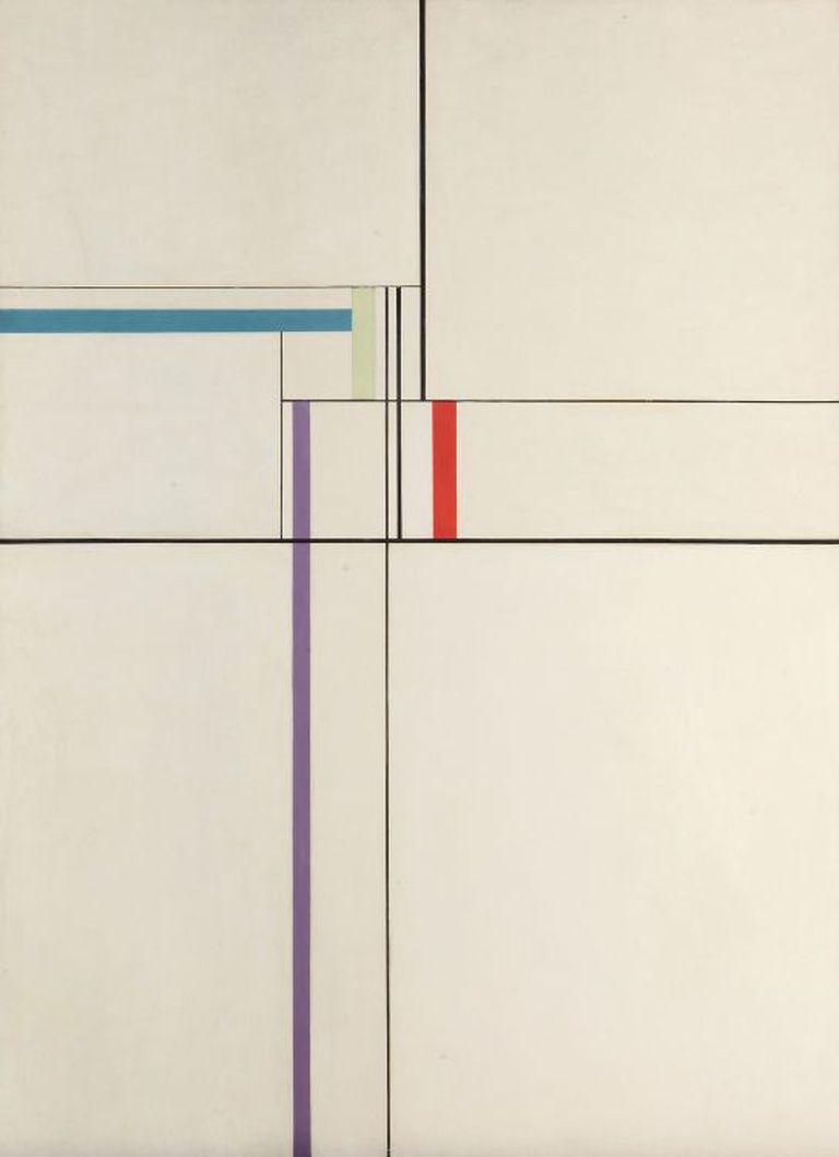 Composición, obra de Tomás Maldonado de 1950, que pertenece a la colección del MNBA