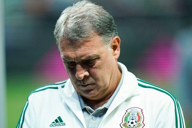 Argentina-México. Qué dijo Martino sobre la goleada que sufrió su selección