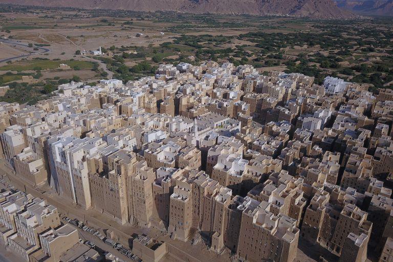 Shibam, una ciudad de rascacielos del siglo XVI en medio del desierto de Yemen