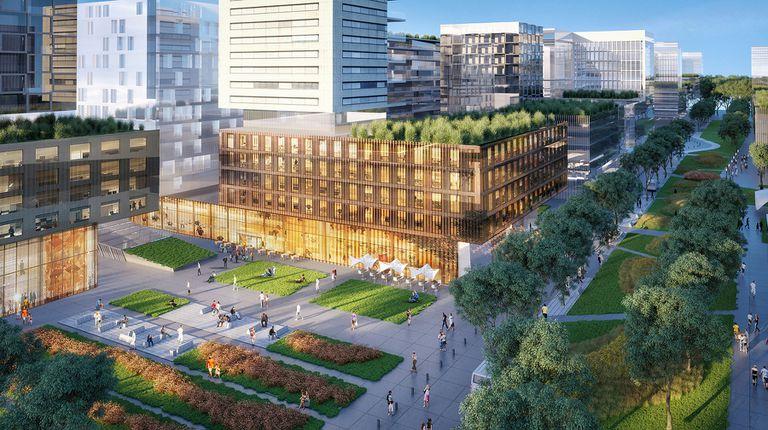El Parque contará con un amplio corredor central con ambientes de interacción