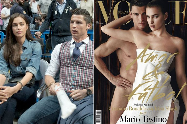 Cristiano Ronaldo e Irina Shayk son considerados una de las parejas más sexies del mundo. Portagonizan la próxima portada de Vogue