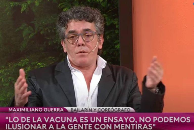Maximiliano Guerra criticó el anuncio oficial sobre vacuna contra el Covid