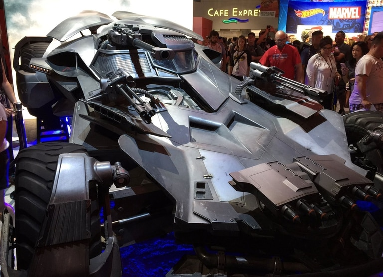 Así es el nuevo Batimóvil que se verá en La Liga de la Justicia