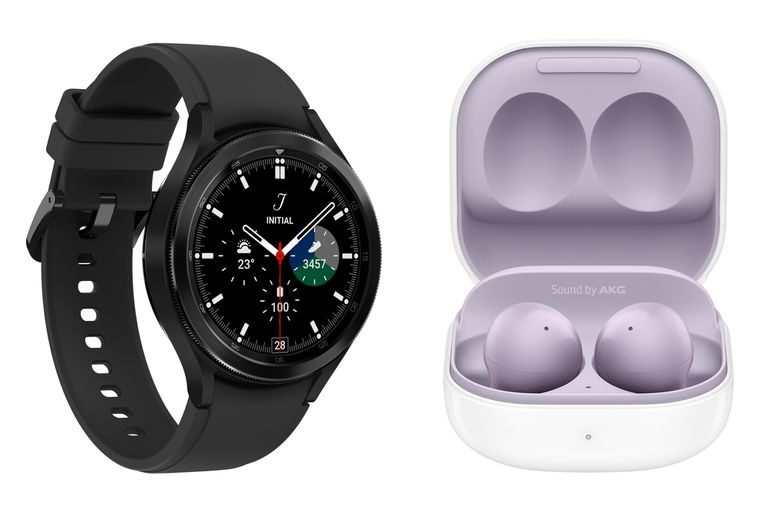 Samsung puso en venta en la Argentina los Galaxy Buds2 y el Galaxy Watch4 a precios similares a los que tienen en EE.UU.